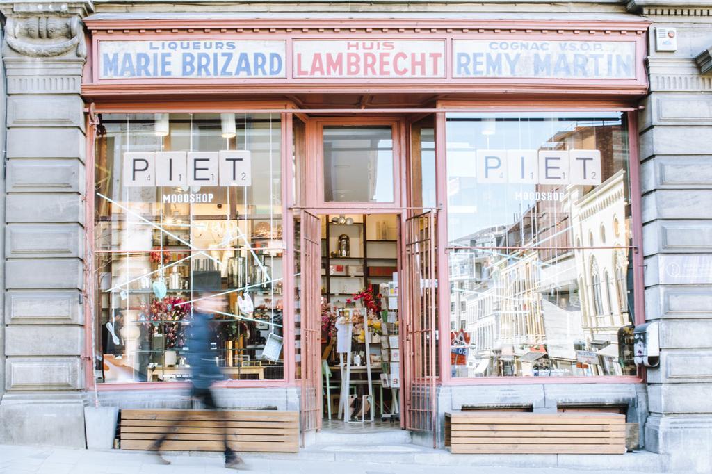 Voorgeven van Piet Moodshop in Gent