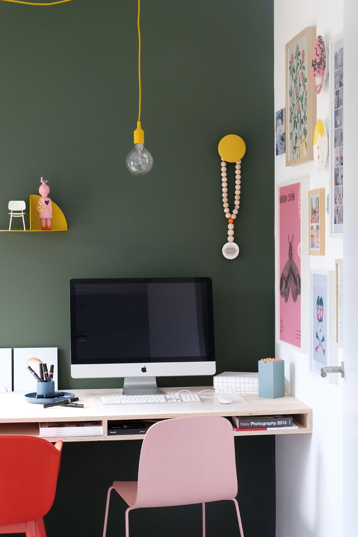 Groen op de muur
