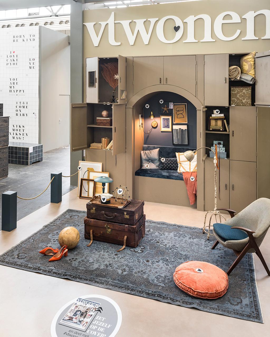 De cover in het vtwonen huis op de vt wonen&design beurs.