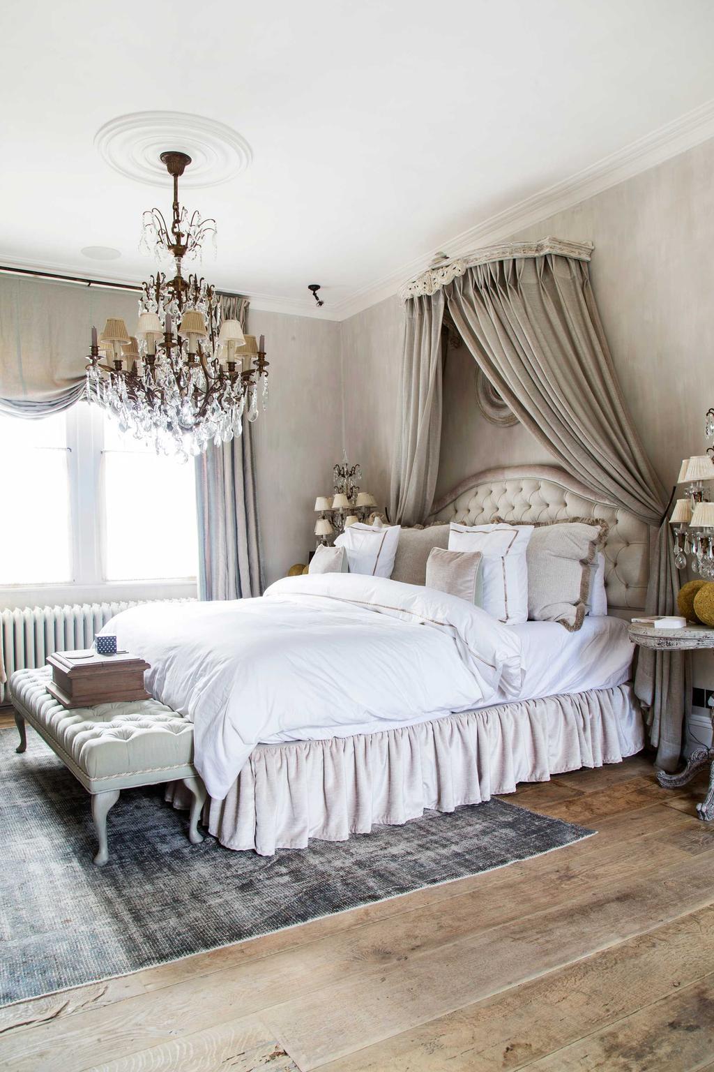 Binnenkijker Londen slaapkamer