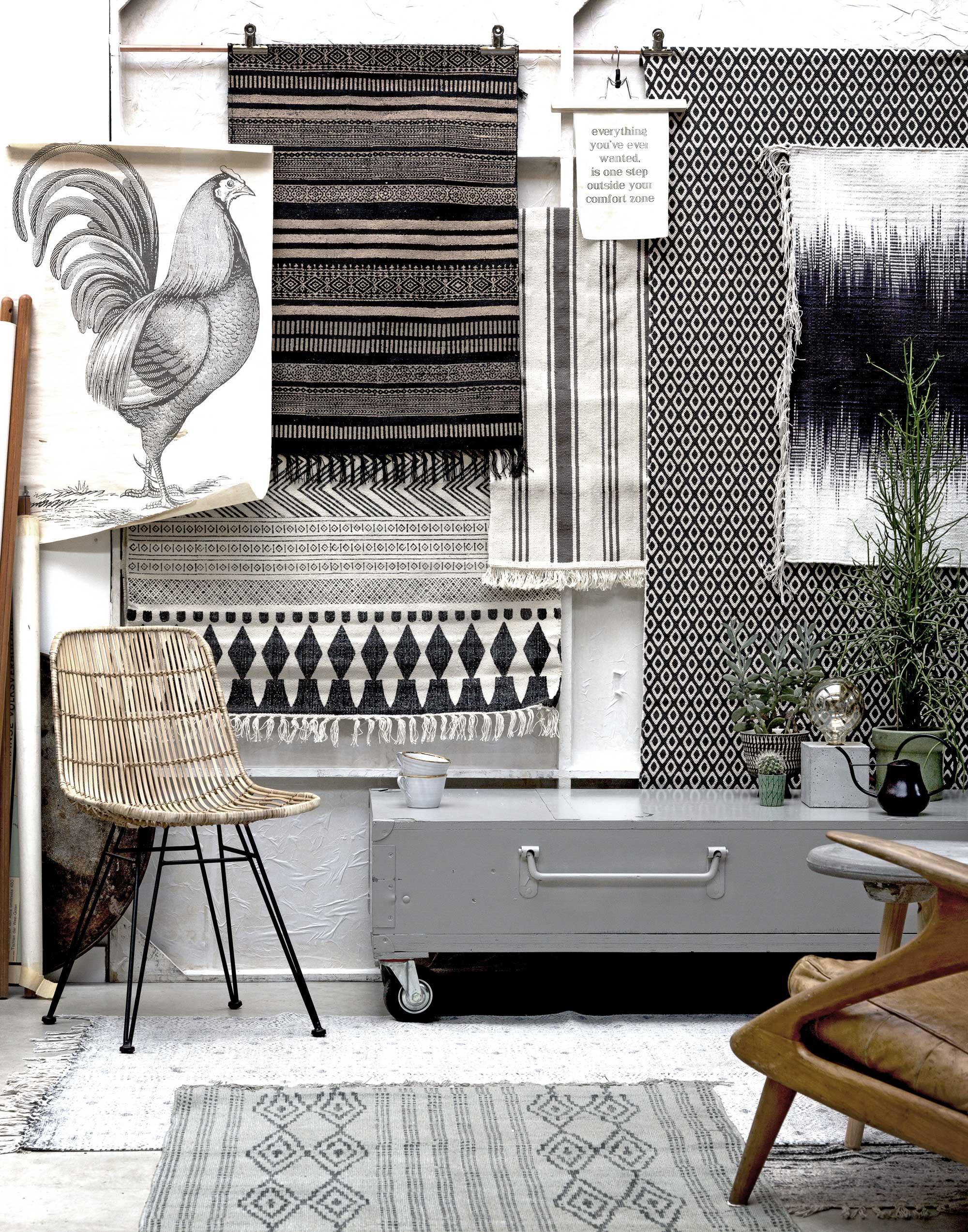 vloerkleden-wand-zwart-wit