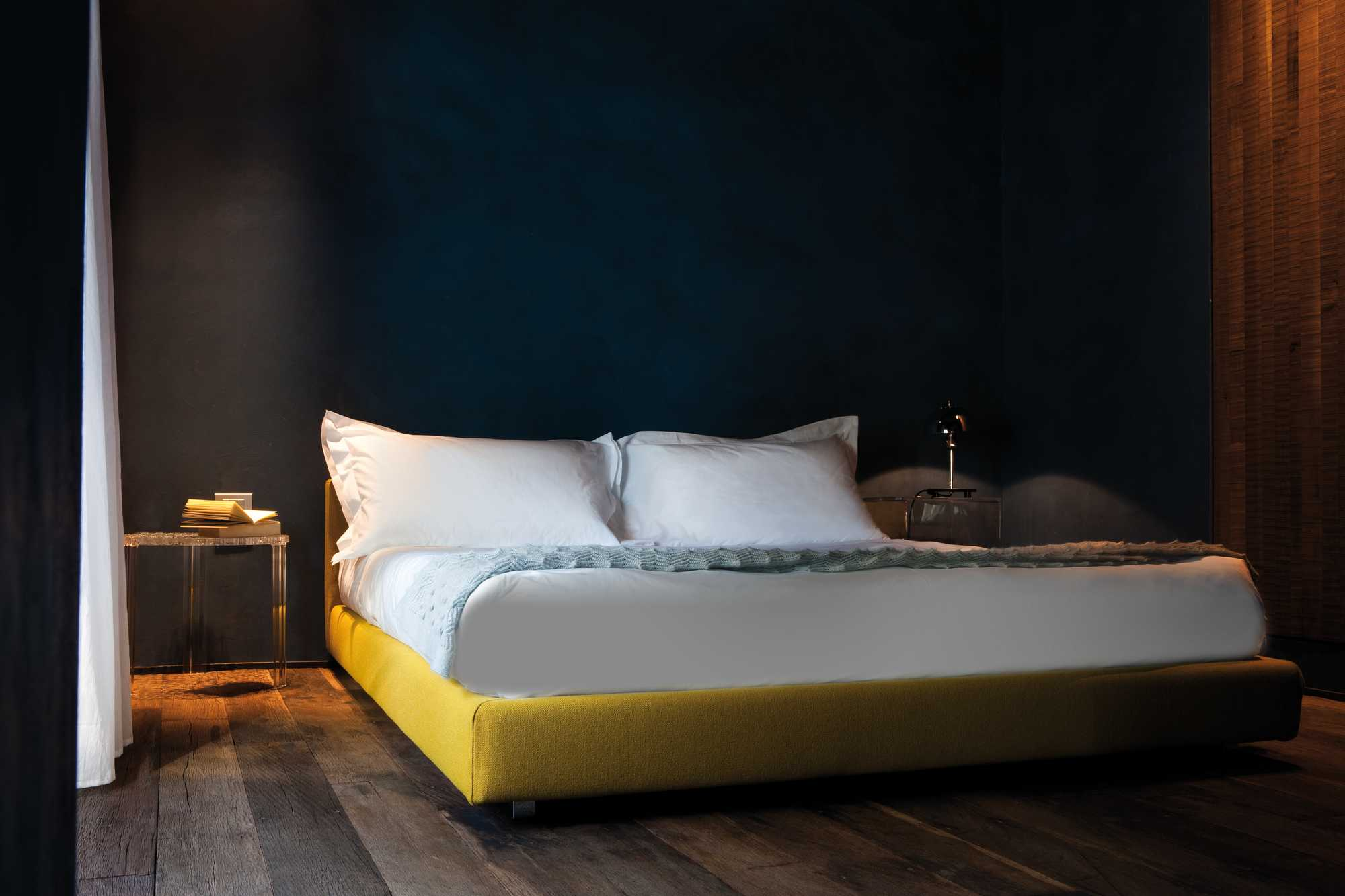 Slaapkamer geel