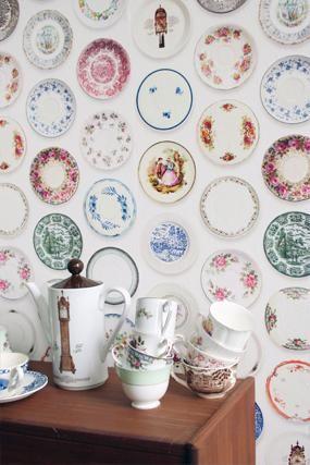 Behang Porselein van Studio Ditte (detailafbeelding)