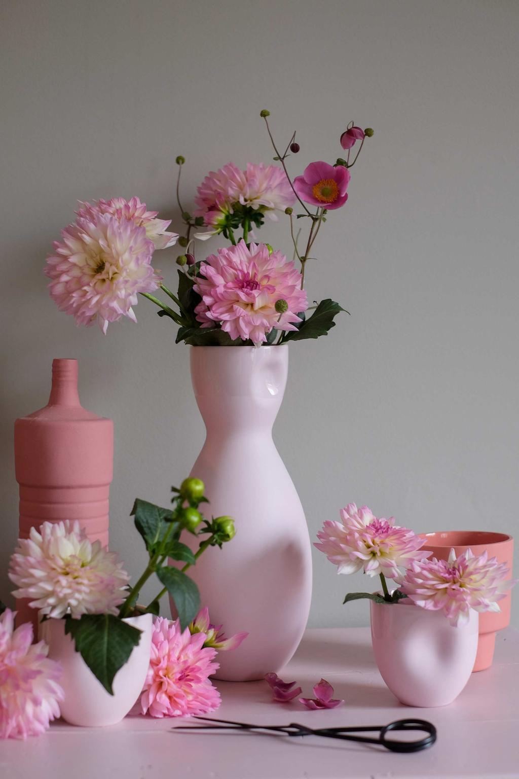 Duurzaam porselein en roze bloemen van PRCHTG