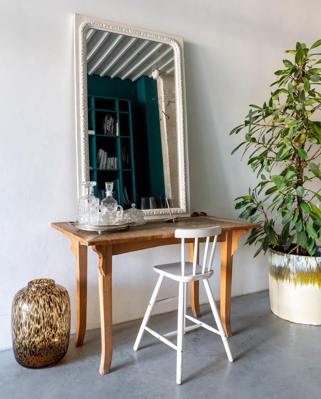 vtwonen | binnenkijken | loft | spiegel