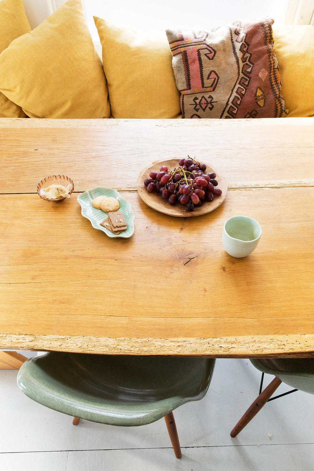 houten tafelblad