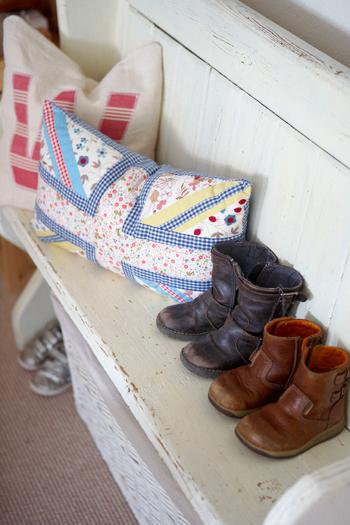 schoenenbankje