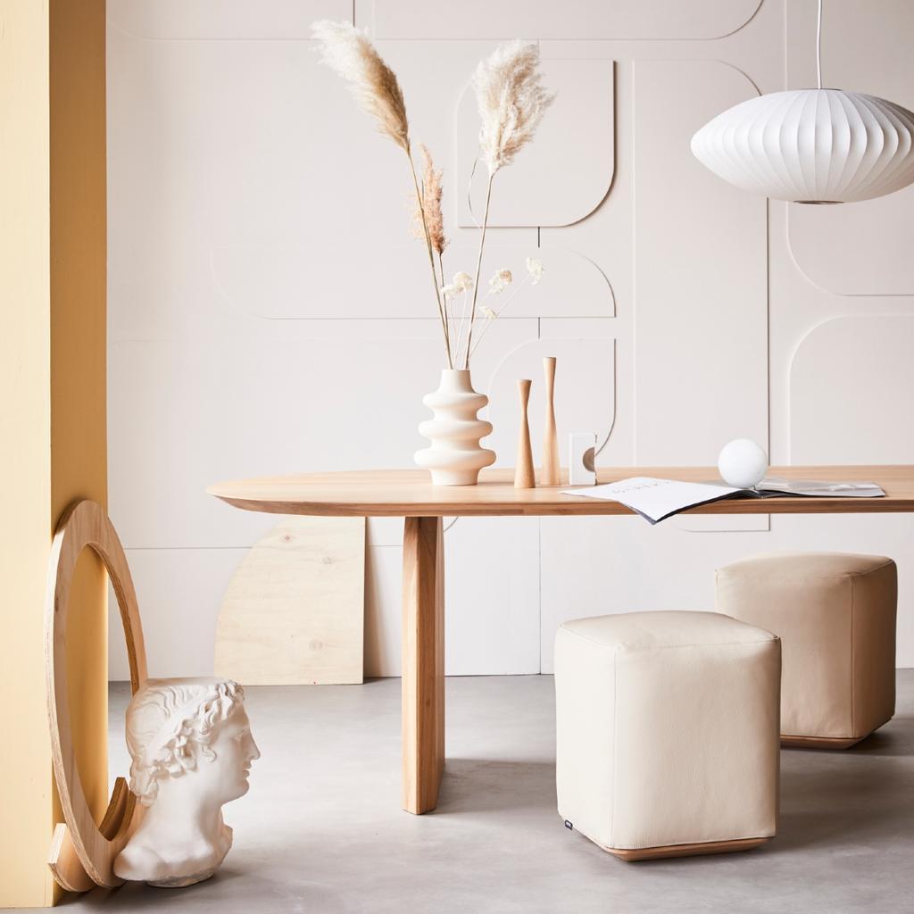 Zo mooi is een ovalen tafel