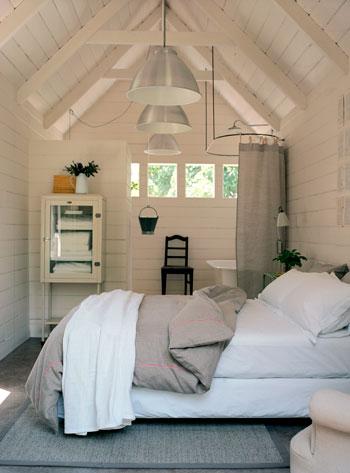 Slaapkamer schuur