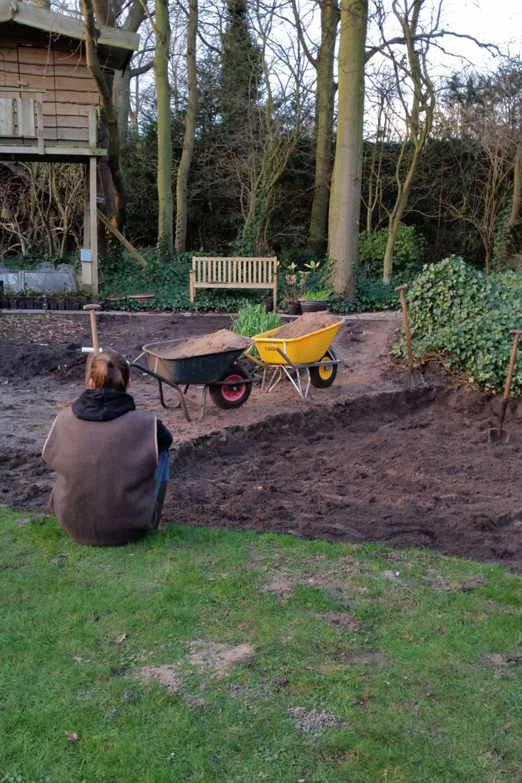 tuin moestuin