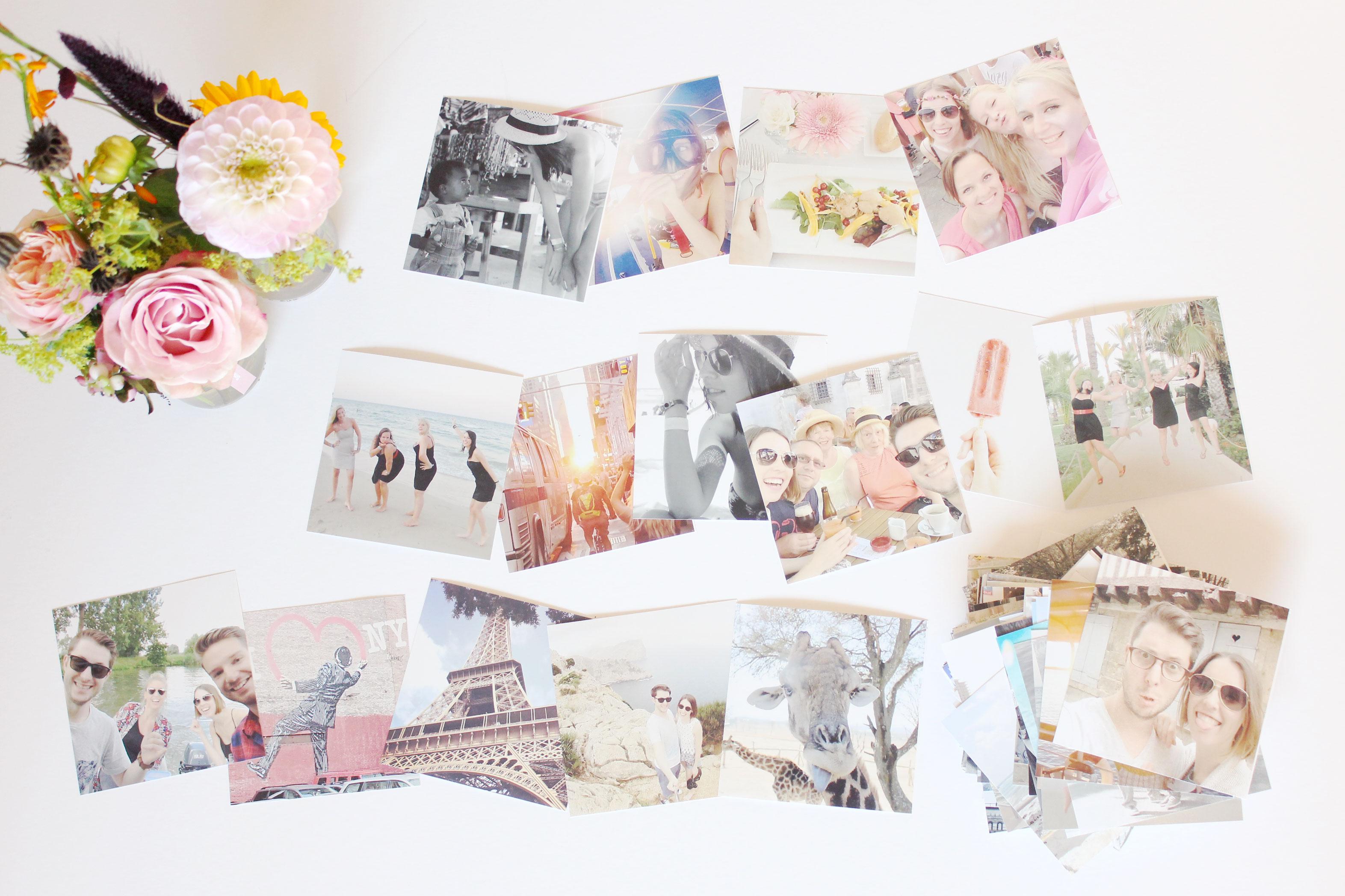 fotomuur herinneringen