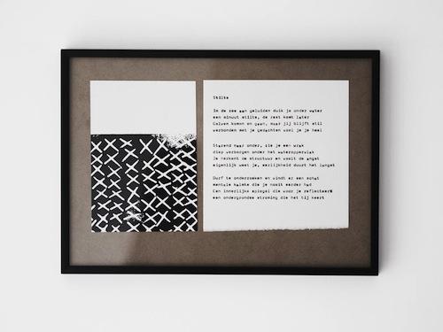 zwart-wit prints