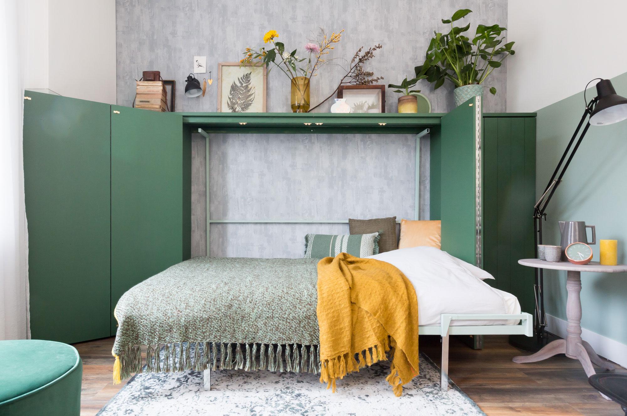 Bed-kast