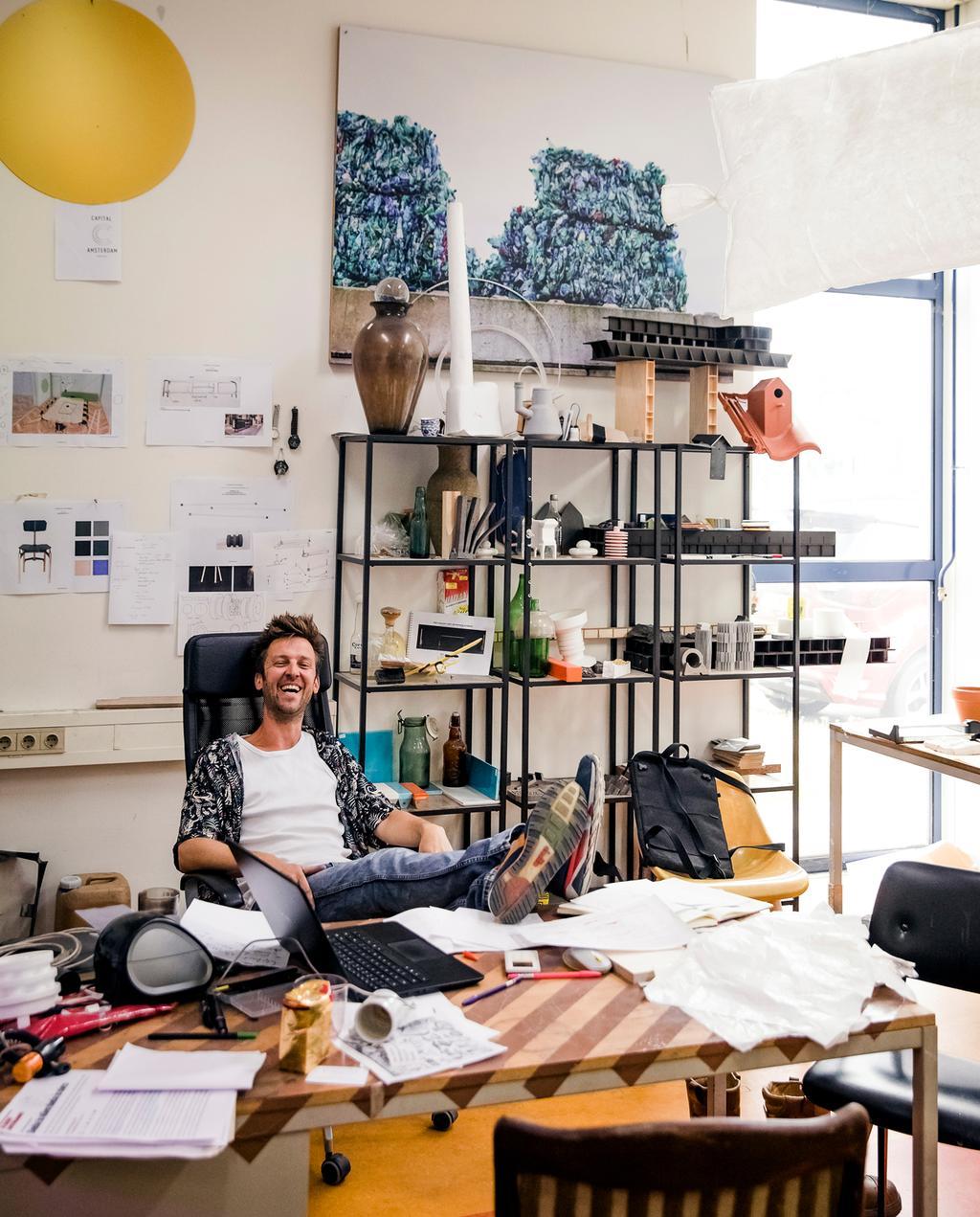 vtwonen 9-2019 | Ambacht Klaas Kuiken atelier kantoor