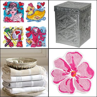 Breng met accessoires kleur en sfeer in je badkamer