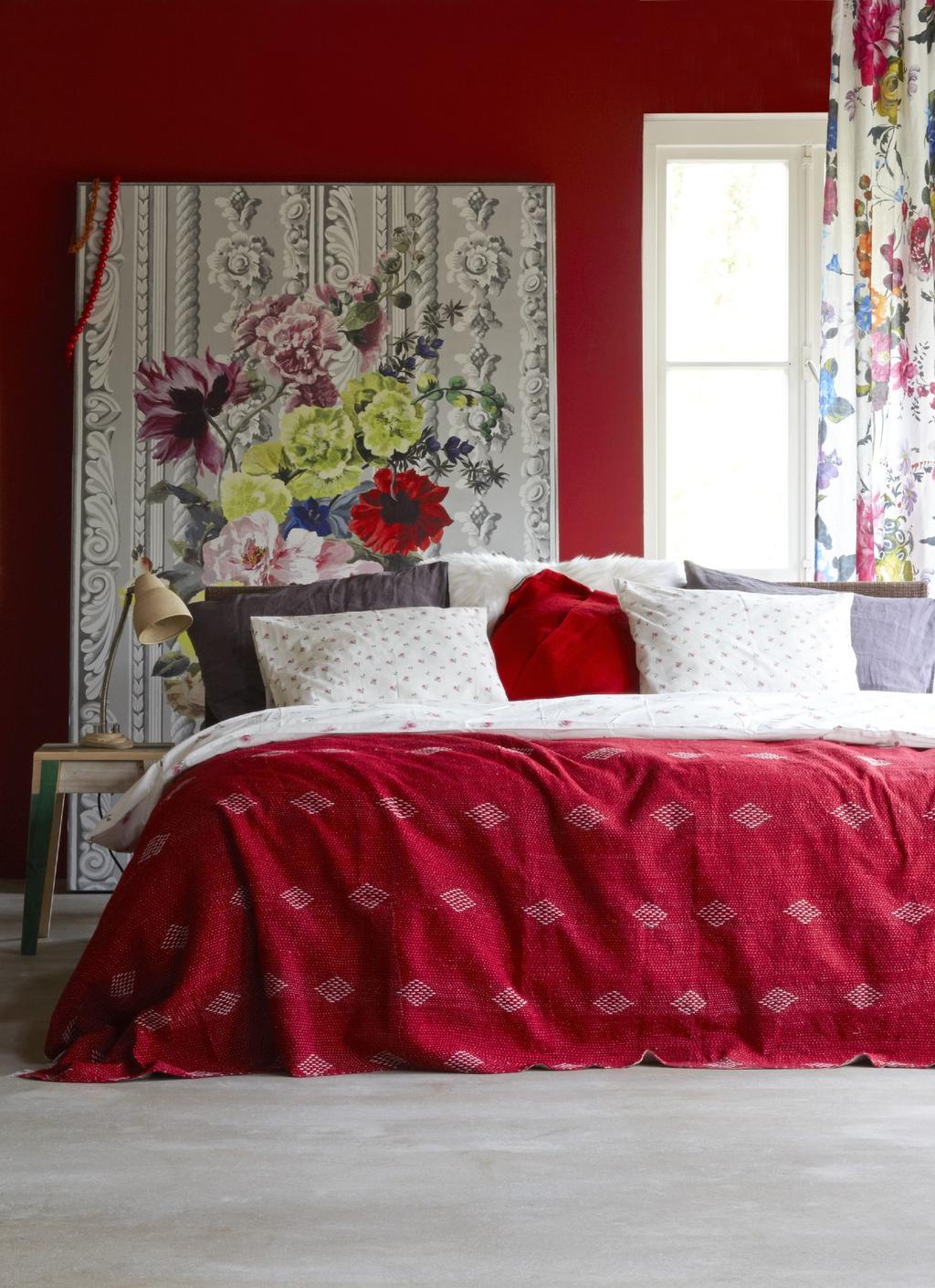 Ideeën voor de slaapkamer voor meer sfeer