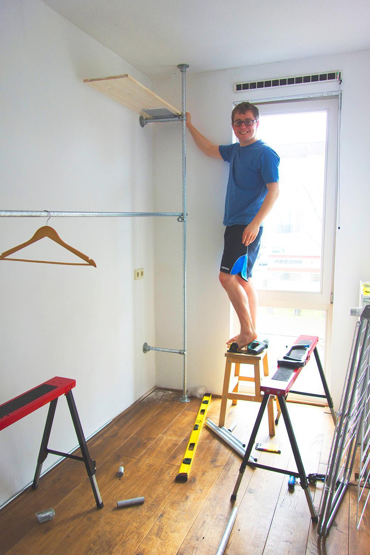 walk-in closet maken