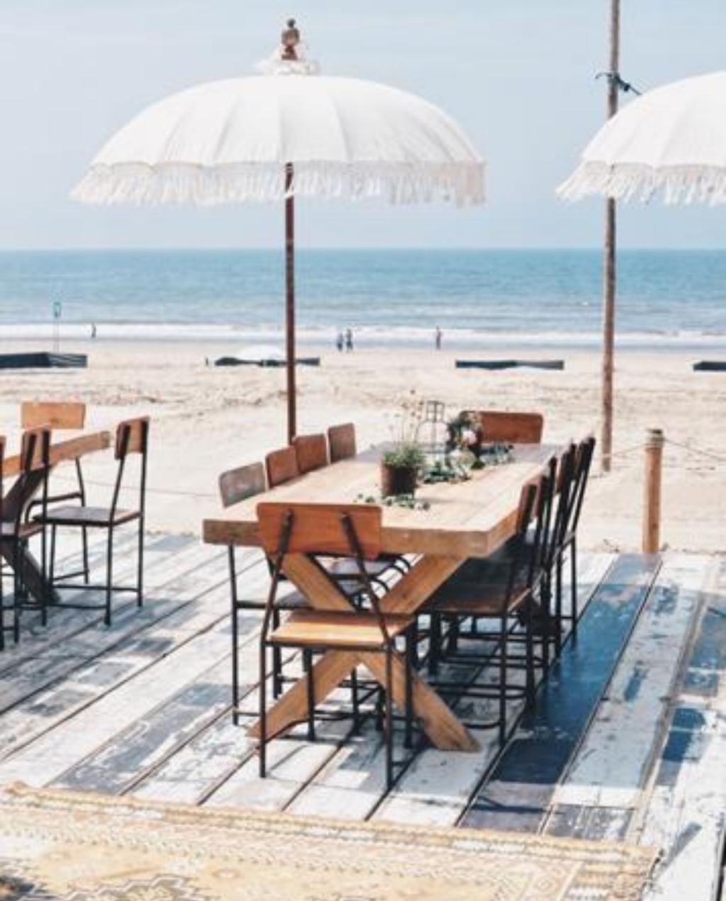 De mooiste terrassen aan de Nederlandse kust