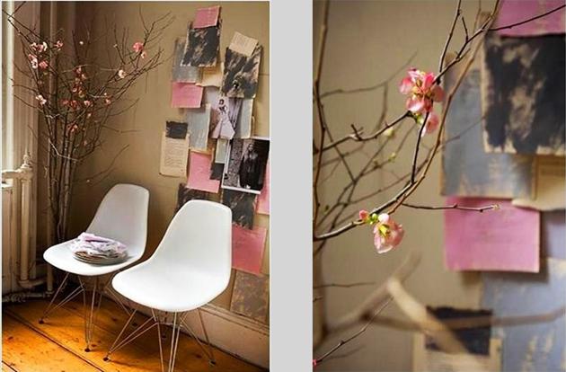 wanddecoratie papier