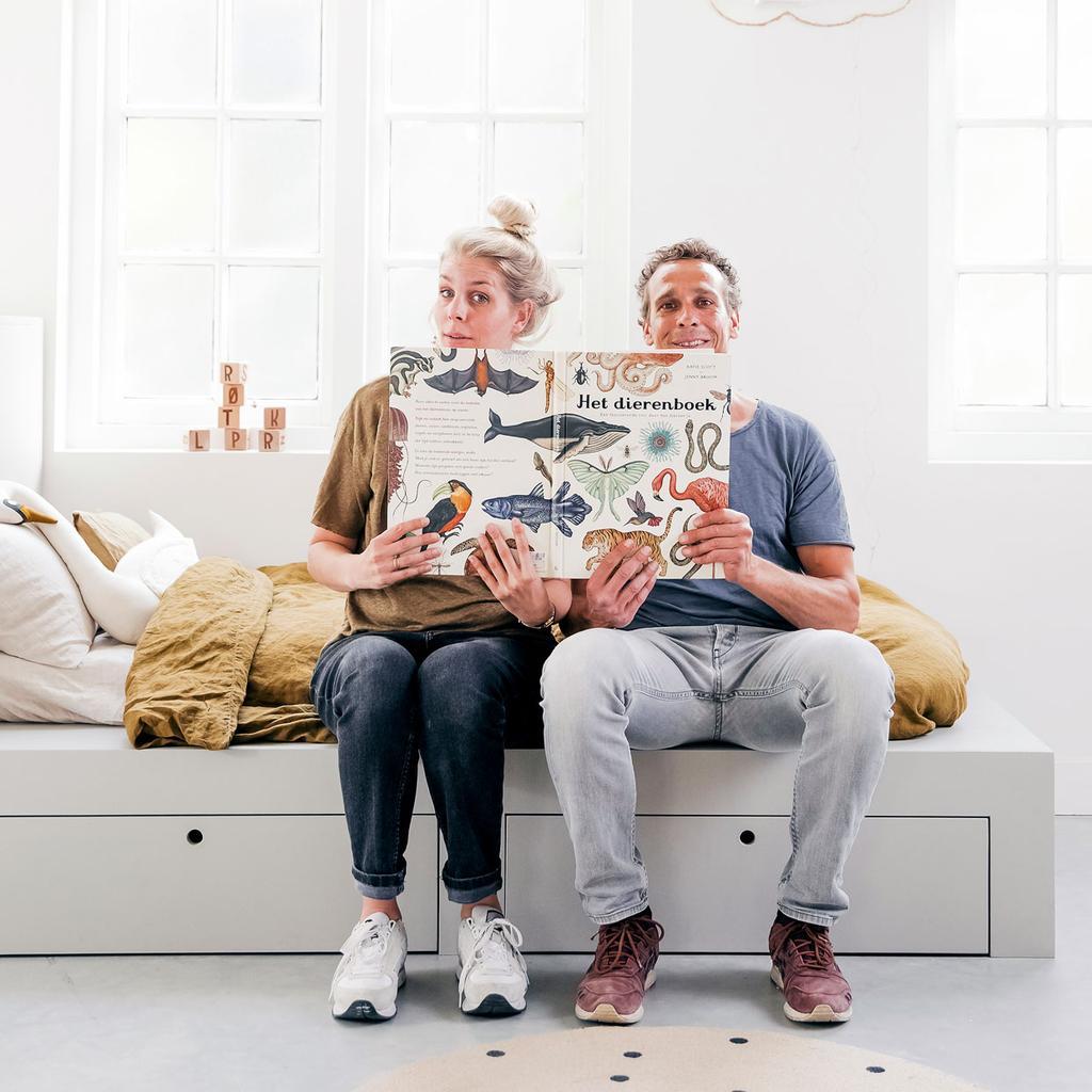 DIY kinderbed met kast | vtwonen | vtwonen klusduo Kim & Richard