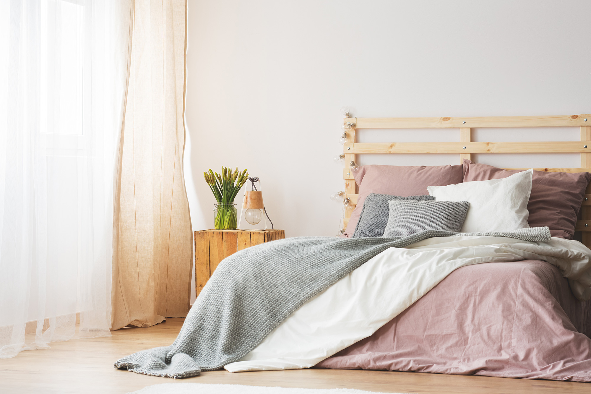 Comfortabele slaapkamer