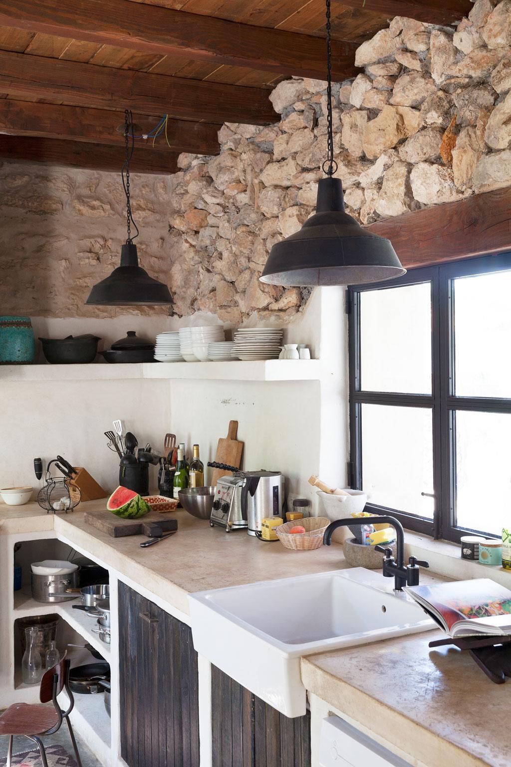 betonnen keukenblad