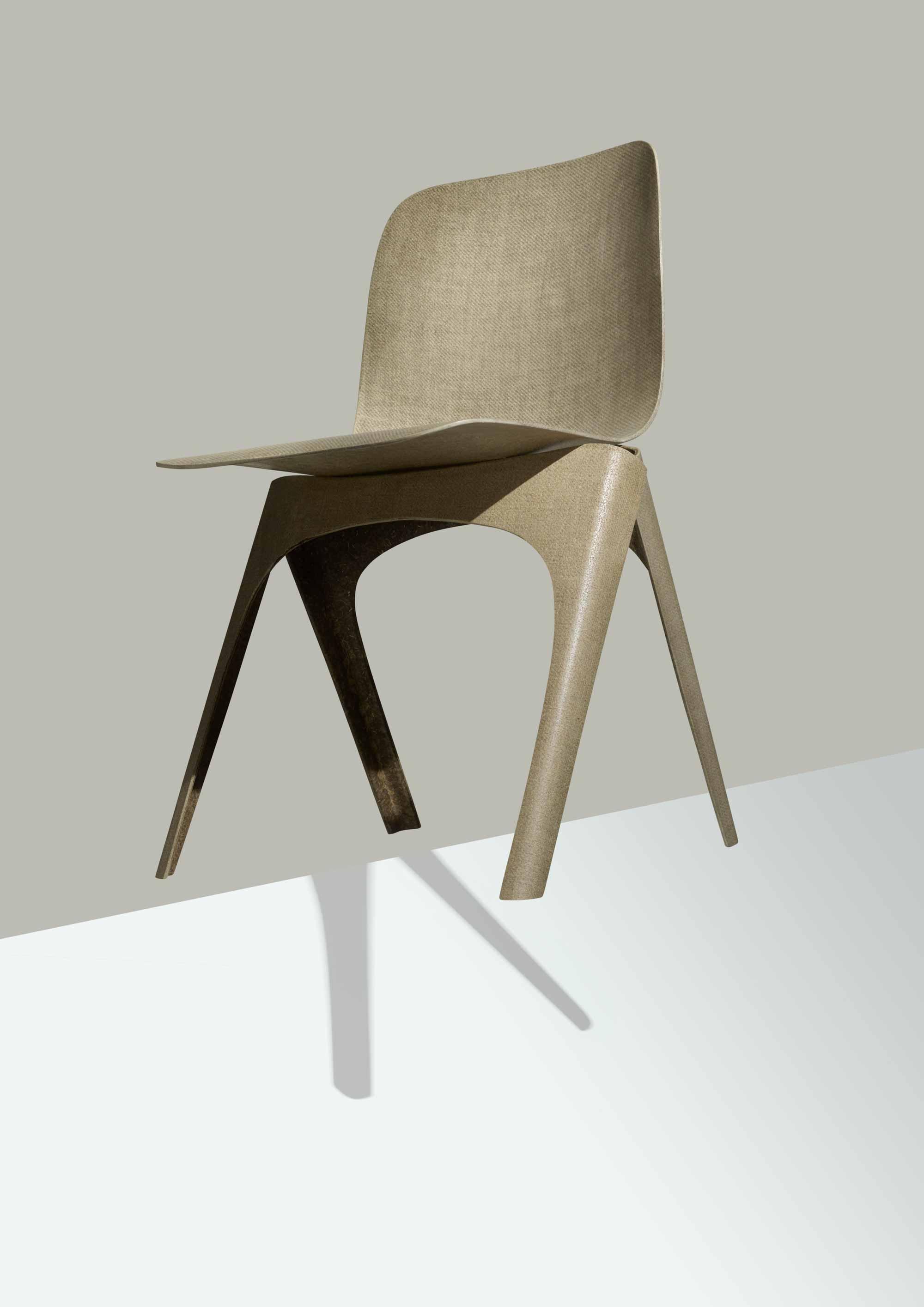 Duurzaam designkwartier | Flax Chair van Christien Meindertsma en Labelbreed | vtwonen.nl