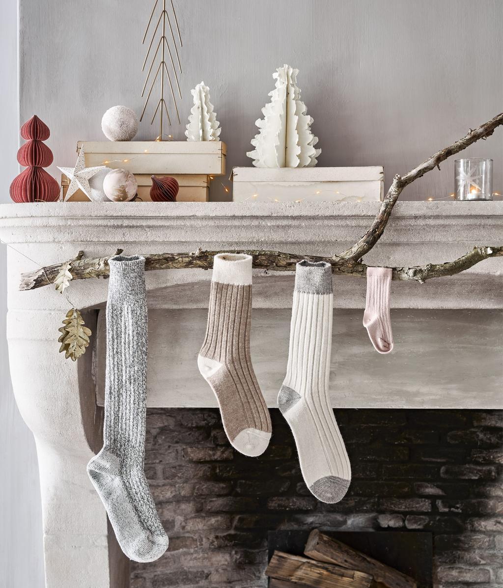 Speels kersthuis | sokken hangen |  special 12-2020