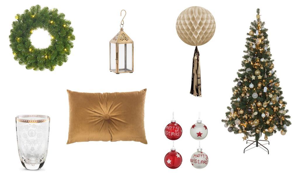 Shopping traditionele kersttype
