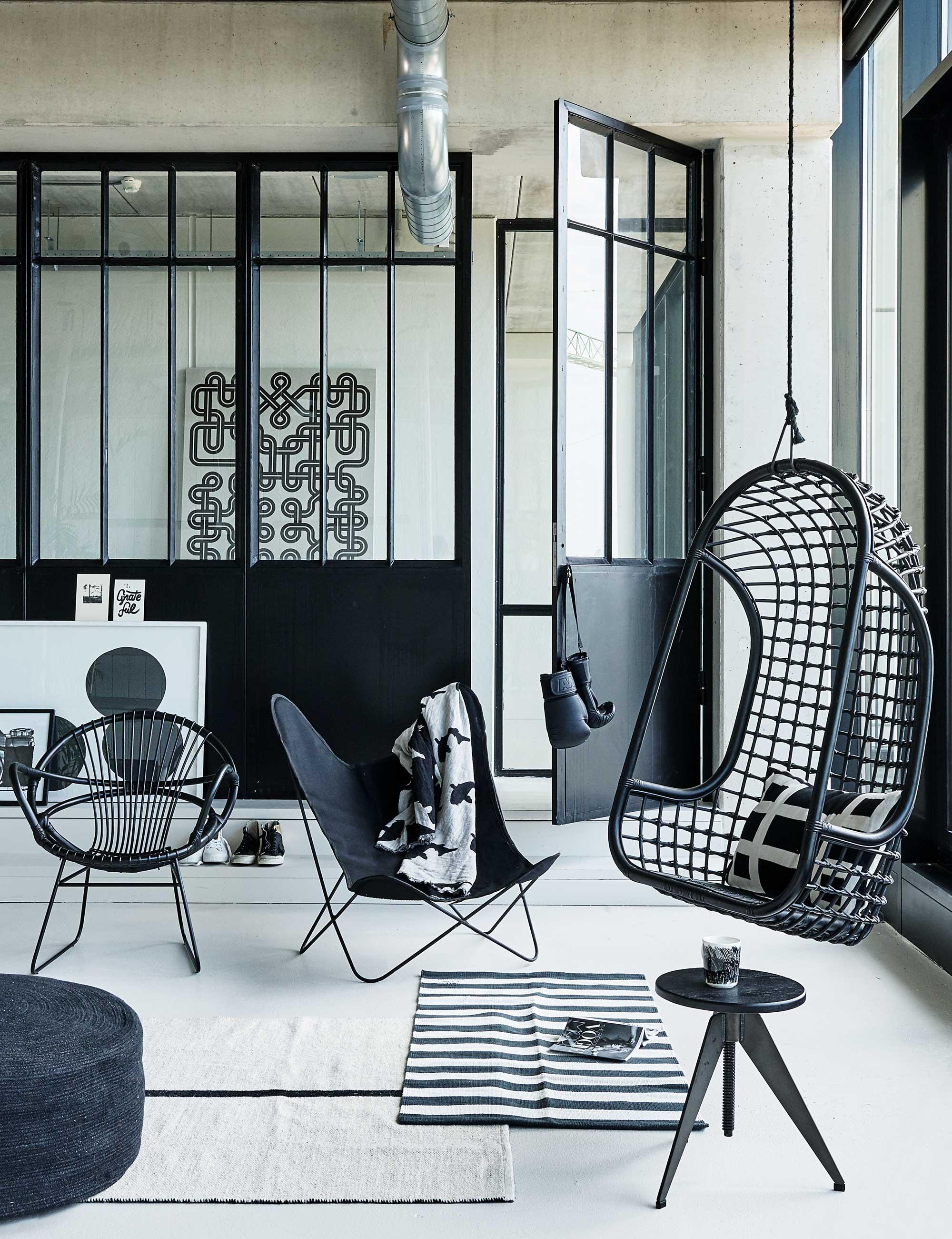 zwart-wit-woonkamer
