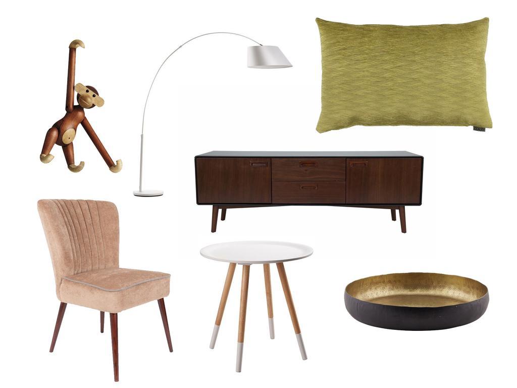 Shoppen in de stijl van een modern interieur met een vintage twist