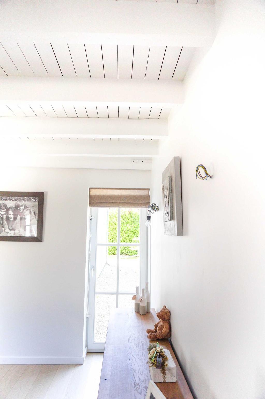 bijzettafel wit planken