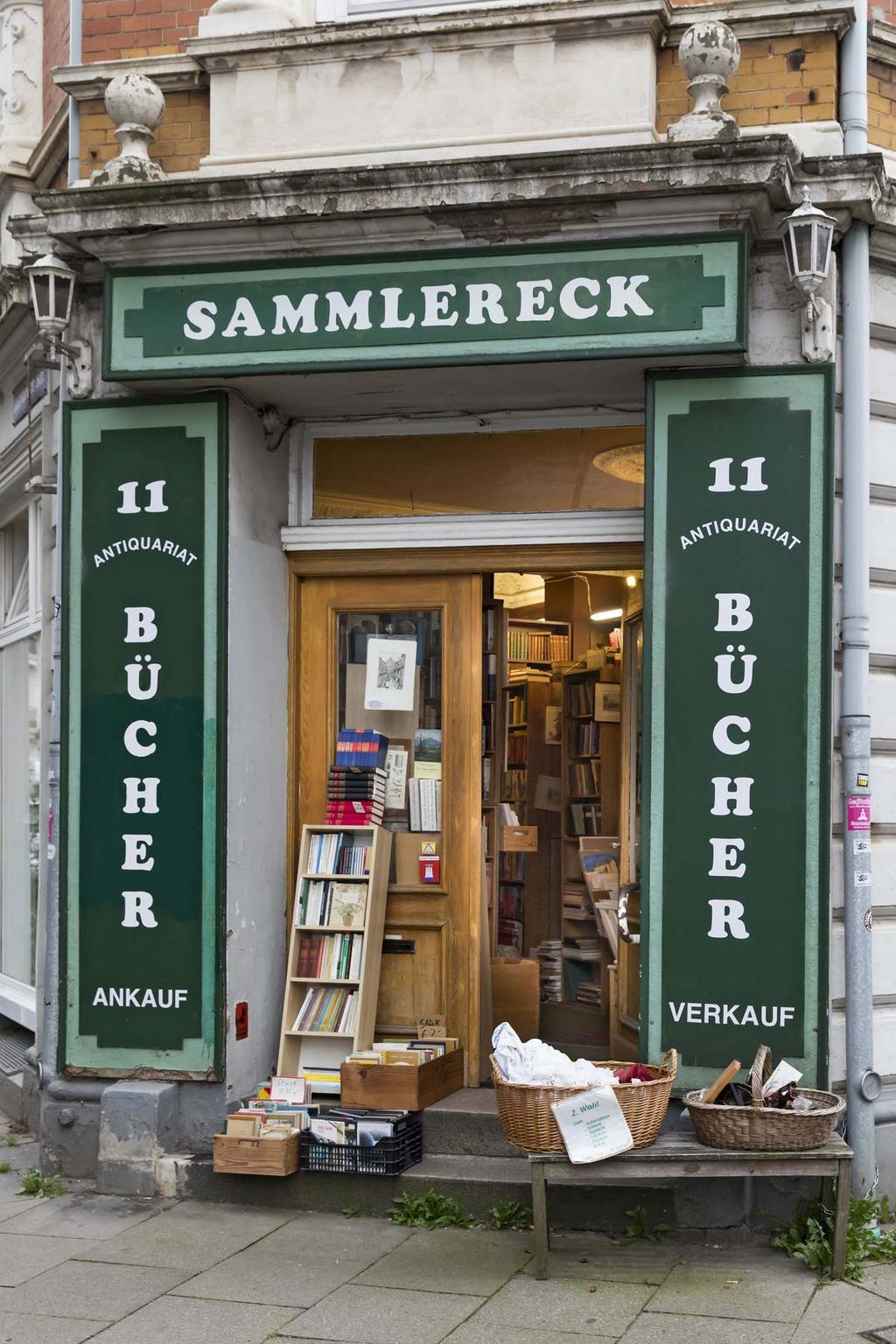 Boekenwinkel Sammlereck in Hamburg