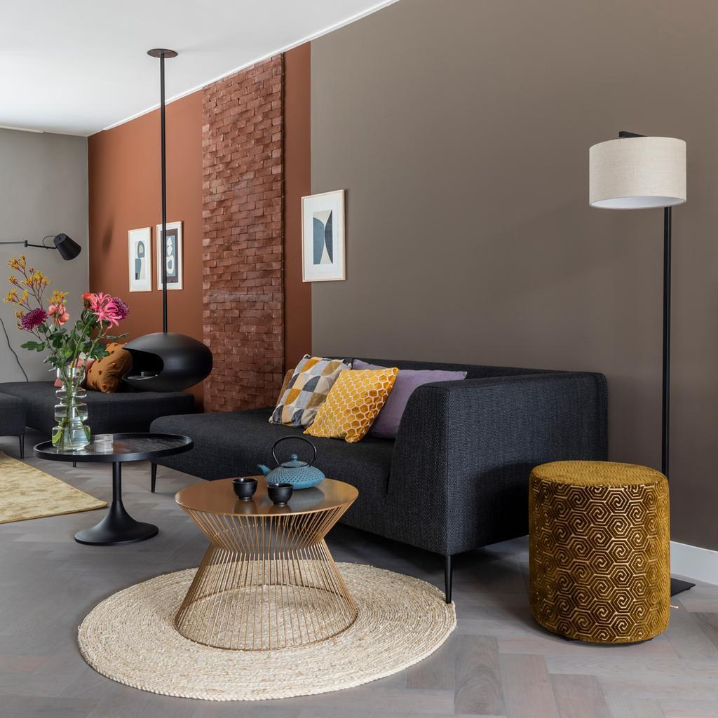 vtwonen weer verliefd op je huis | aflevering 8 seizoen 13 | Fietje in Soest | meerdere kleuren op de muur