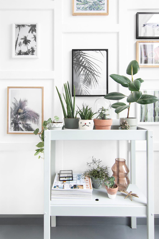 IKEA-hack: SNIGLAR commode wordt sidetable met planten en opbergruimte