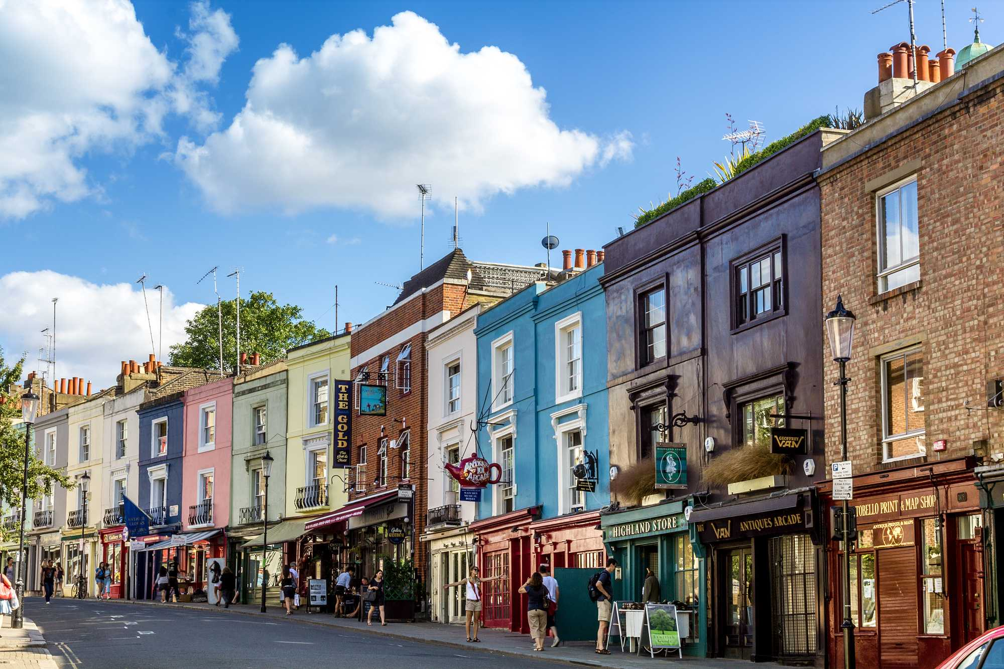 Notting Hill shutterstock