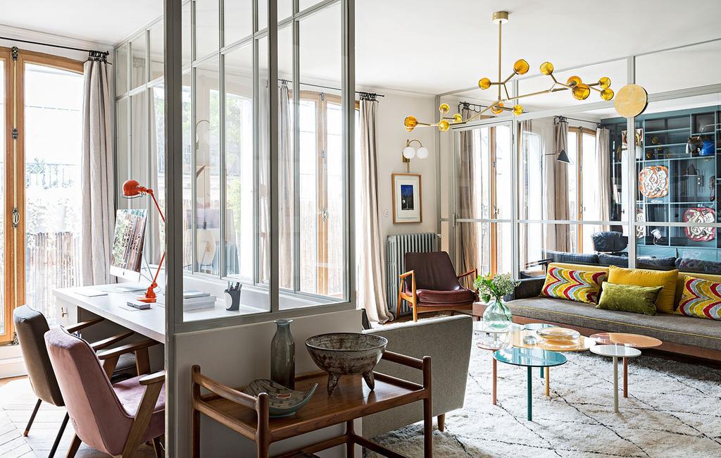 vtwonen 10-2019 | Parijs appartement woonkamer