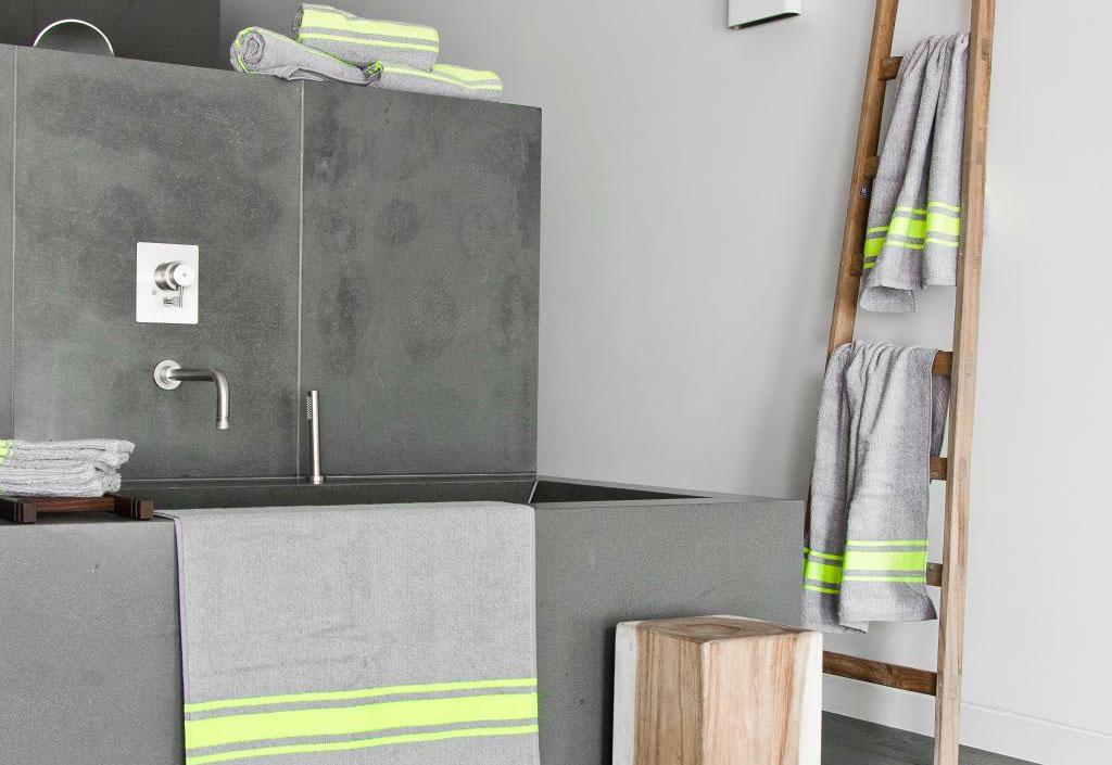 Handdoek opbergen - Decoratie ladder