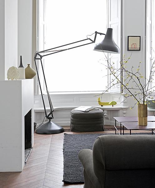oversized lamp