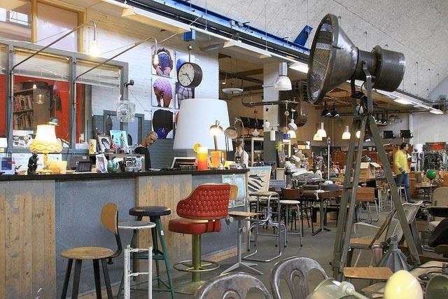 Vintage woonwinkel