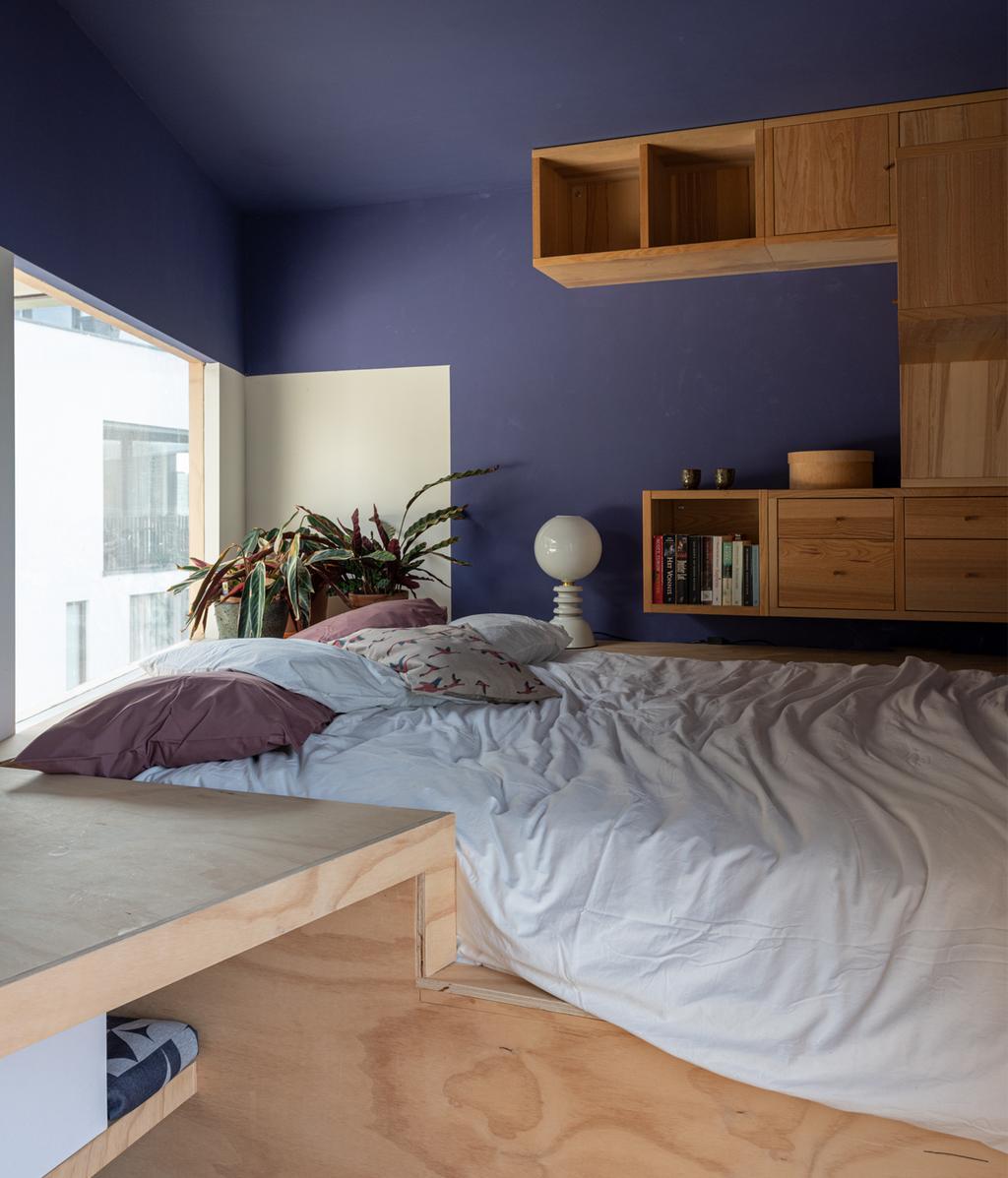 Slaapkamer van hout | vtwonen 01-2020