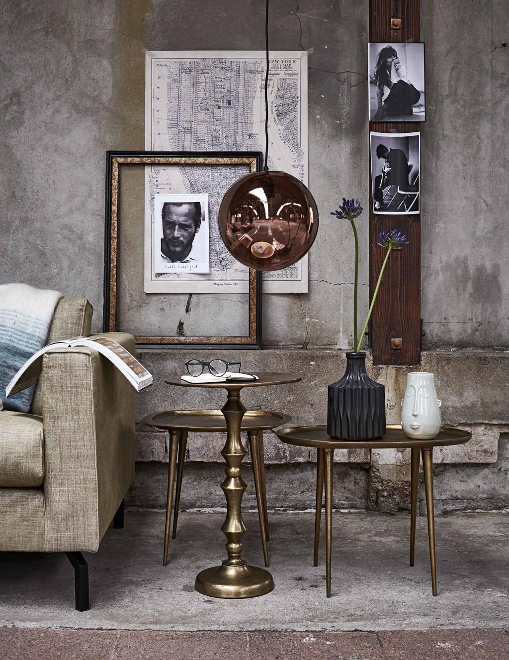 Door slim loslaten en toevoegen creeër je een stijlvol huis dat nooit te 'geprobeerd' oogt.