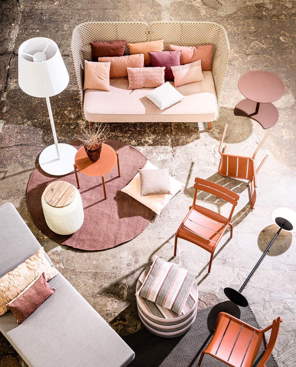 oranje interieur | tuintrends 2021