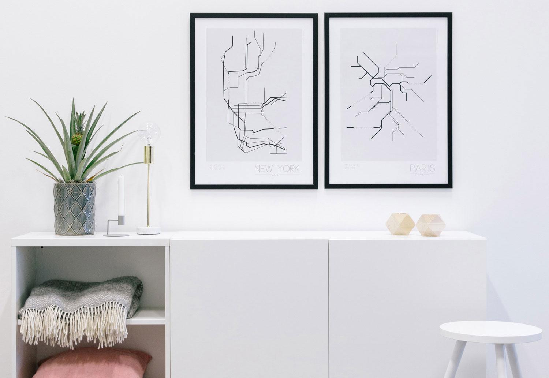 12x de mooiste posters voor in je interieur - Kreativitum