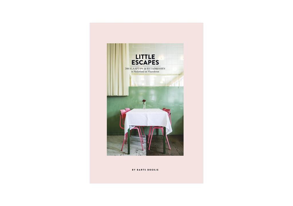 vtwonen abonneecadeau: Boek 'Little Escapes' van Maartje Diepstraten