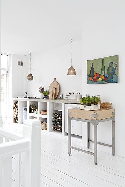 keuken zelf metselen
