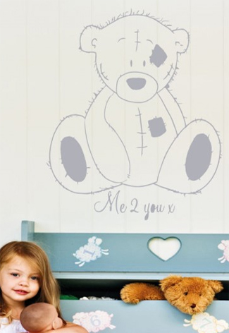 Muurstickers Babykamer Me To You.Me To You Muurstickers Vtwonen