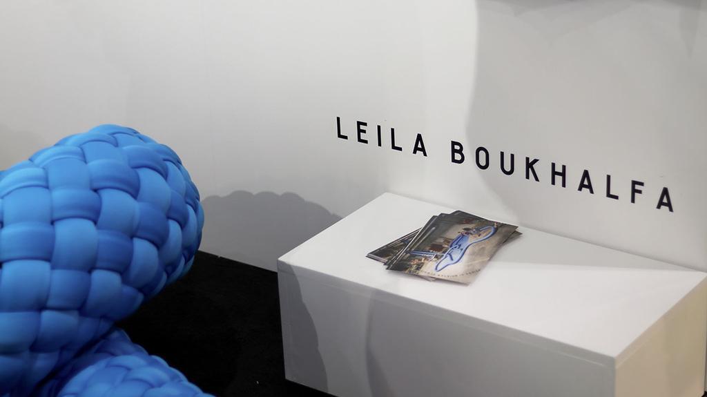 Leila Boukhalfa en Ief Spincemaille op beurs in Milaan