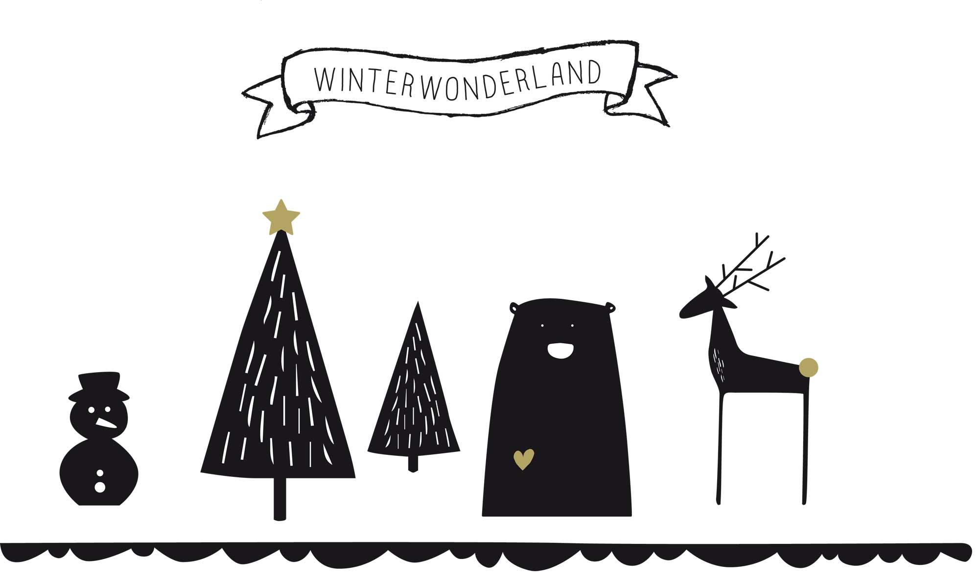 kerstbos maken