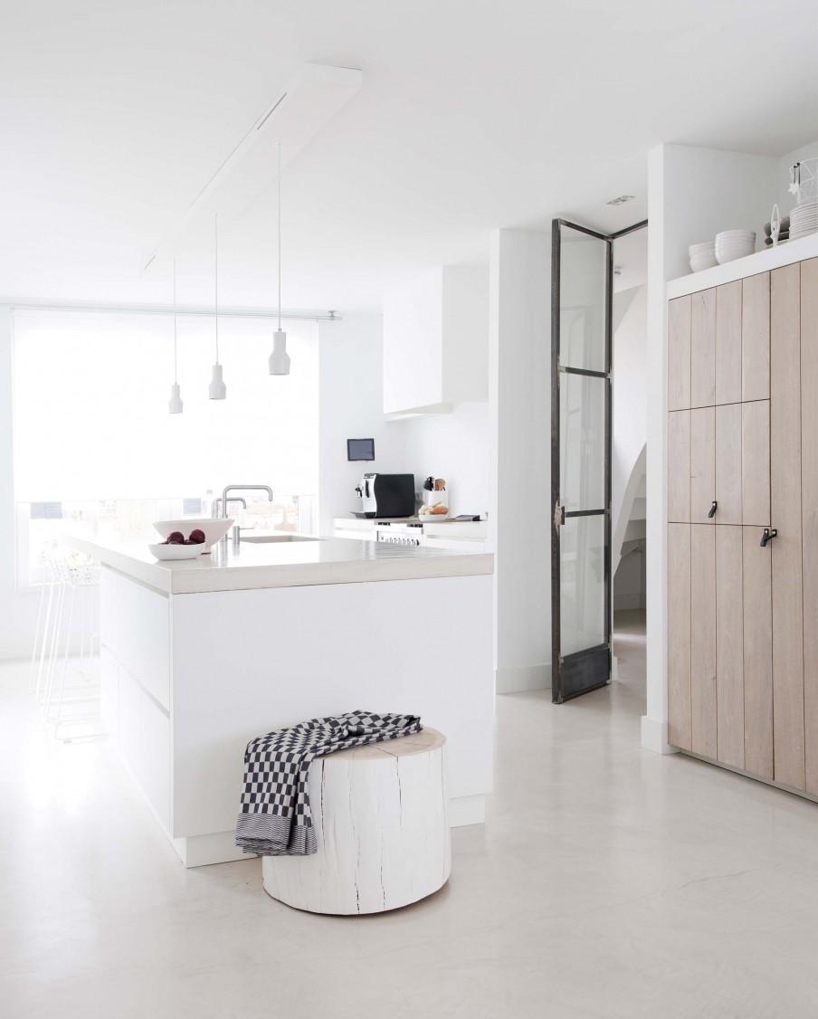 bloc cuisine blanc